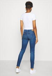 Lee - SCARLETT - Jeansy Skinny Fit - vintage satna - 2