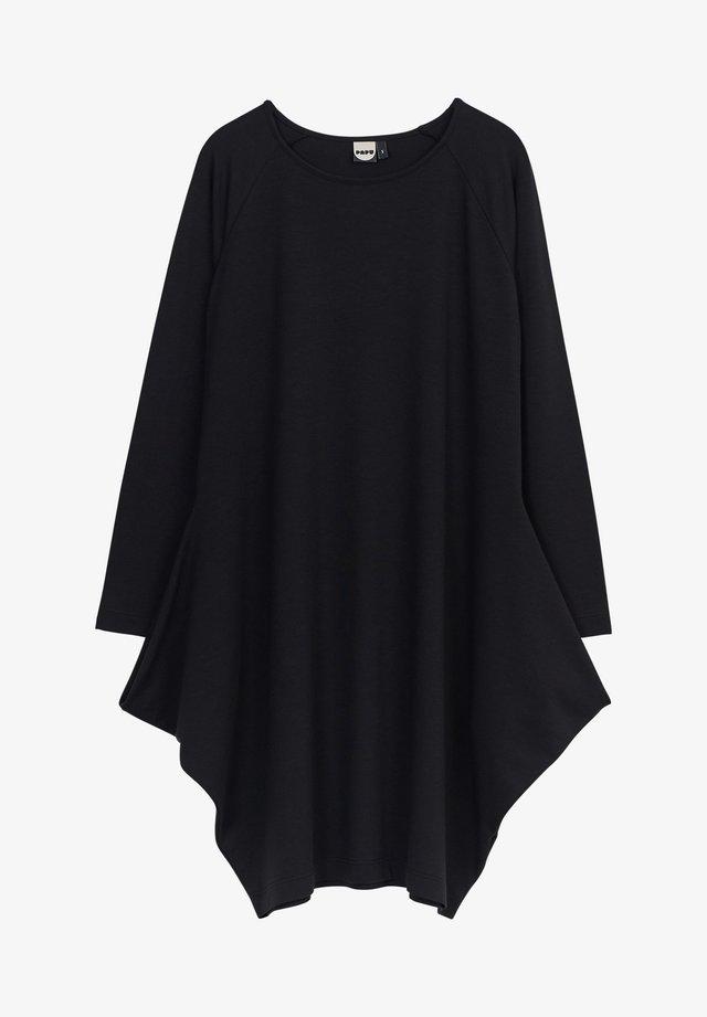 KANTO - Robe en jersey - black