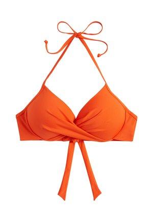 Horní díl bikin - orange