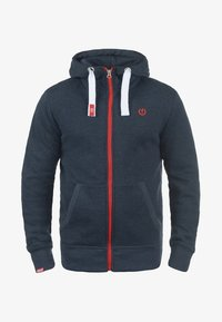 Solid - BENN  - Zip-up hoodie - blue melange - 4