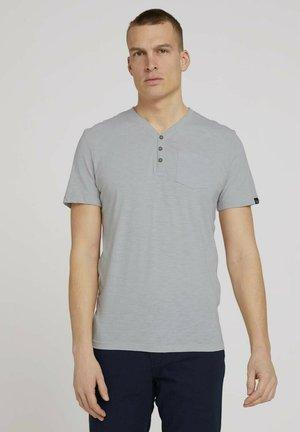 HENLEY  - Basic T-shirt - grey