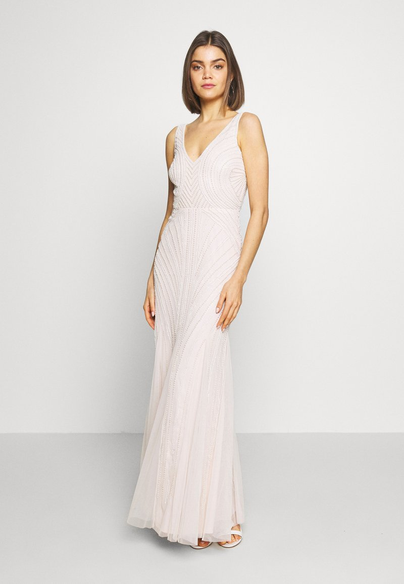 Lace & Beads - MARABELLA MAXI - Occasion wear - blush