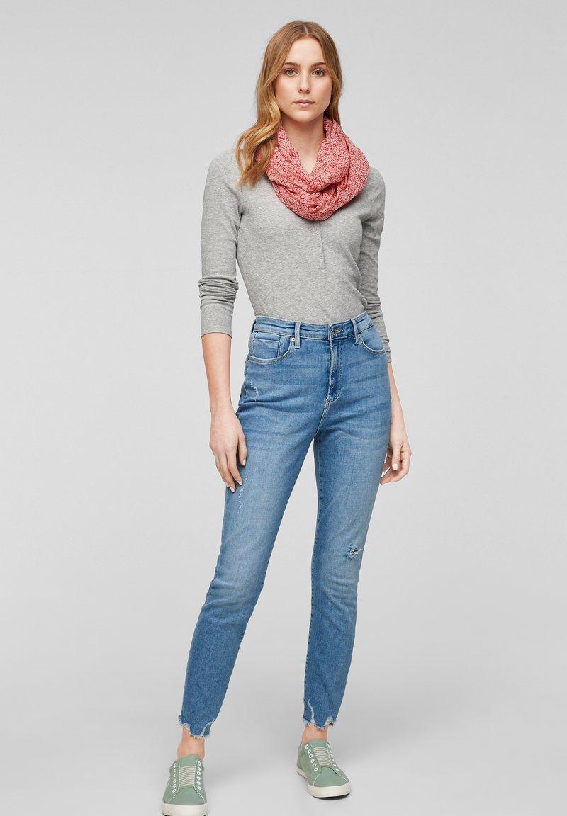 s.Oliver - Snood - light pink floral aop