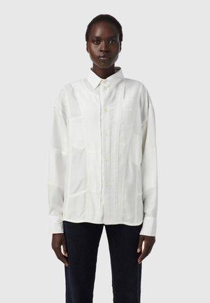 C-VALERIA-A - Button-down blouse - white