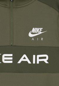 Nike Sportswear - AIR SET UNISEX - Tepláková souprava - medium olive/khaki/white - 3
