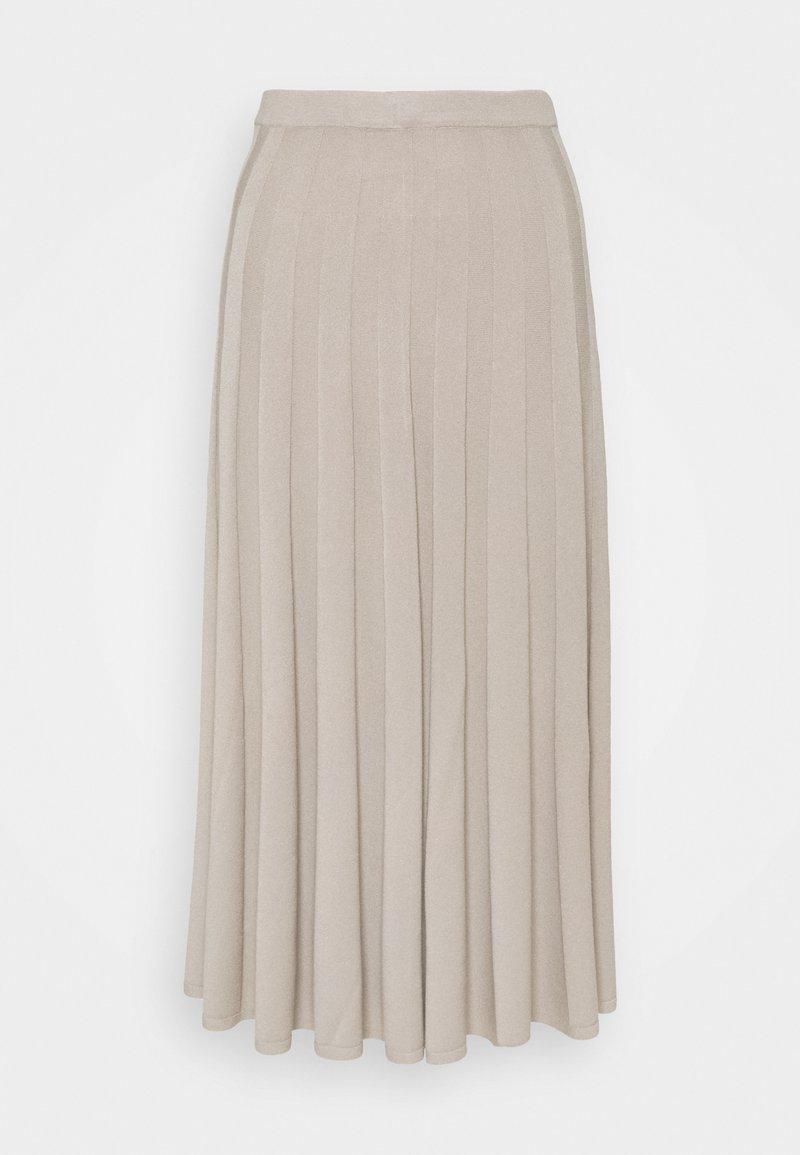 Filippa K - RUBY SKIRT - Áčková sukně - grey beige
