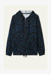 Tezenis - MIT REISSVERSCHLUSS UND TUNNELZUG - Zip-up hoodie -  blu grafite st.zebra - 3