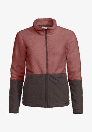 WOMENS MANUKAU JACKET - Fleece jacket - dusty rose
