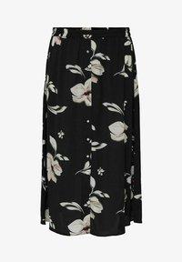 ONLY Carmakoma - CURVY PRINT - A-line skirt - black - 3