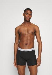 Calvin Klein Underwear - BOXER BRIEF 3 PACK - Culotte - black - 1