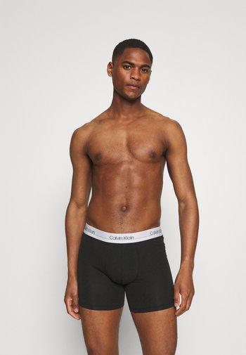 BOXER BRIEF 3 PACK - Pants - black