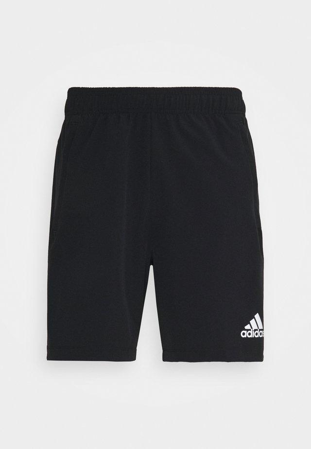 TRAINING WORKOUT AEROREADY - Sports shorts - black