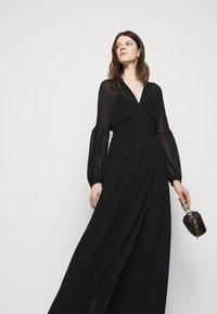 Dondup - GEORGETTE DRESS - Maxi dress - black - 5