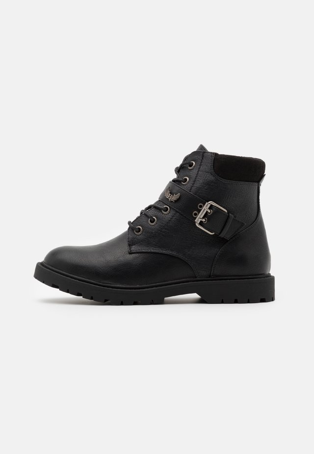 TOSCANE - Lace-up ankle boots - noir
