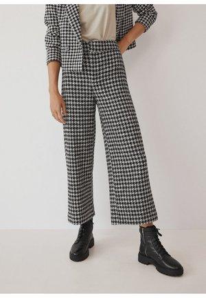 CUADRI - Spodnie materiałowe - schwarz