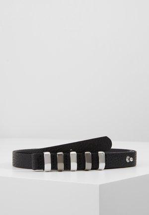 Belt - grey/black