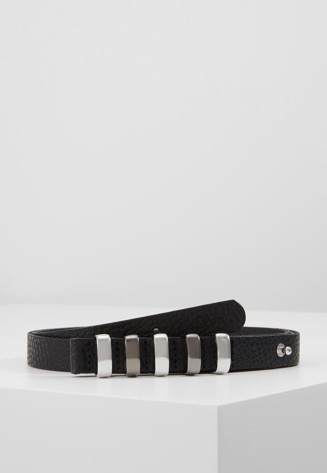 Cinturón - grey/black