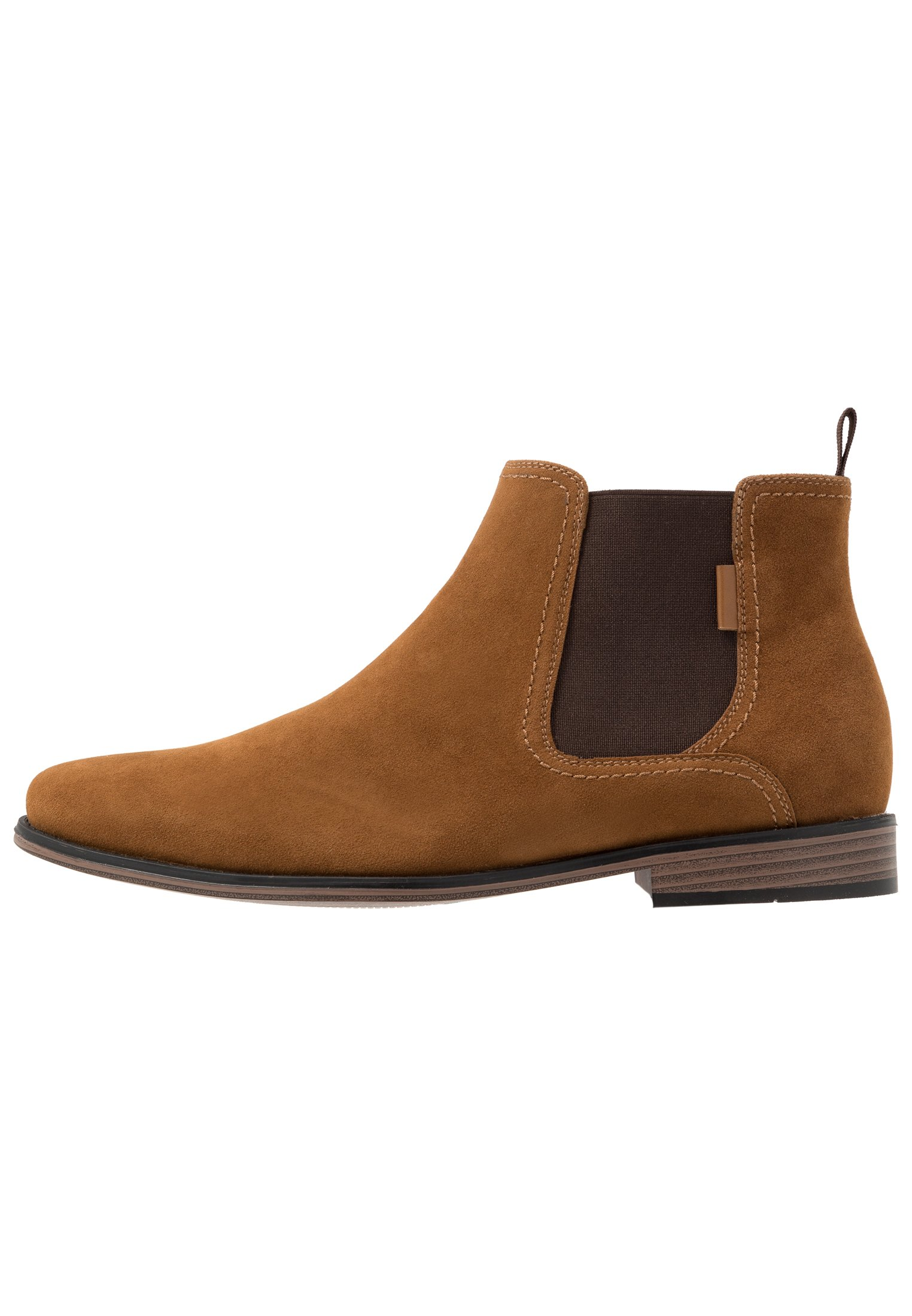 bottines chelsea homme moutarde