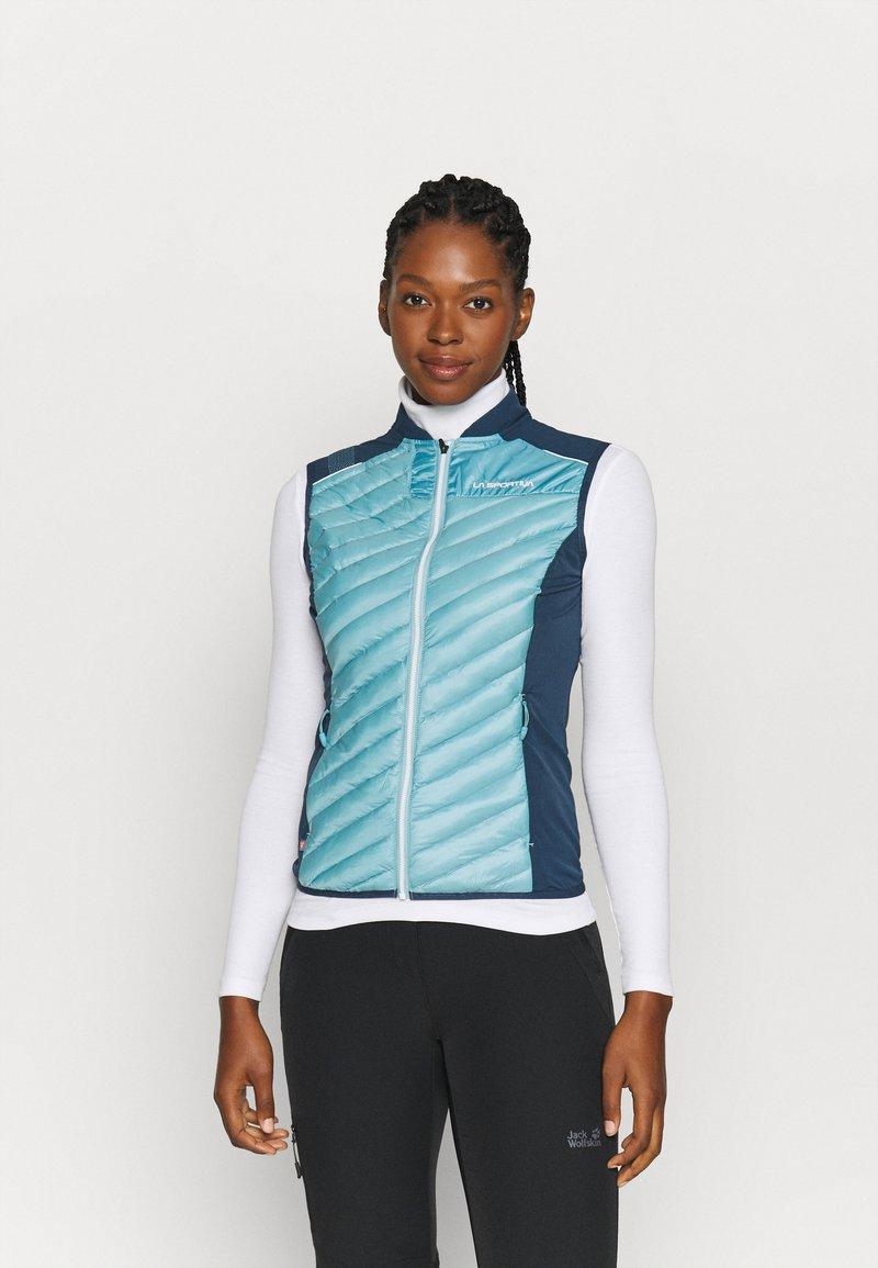 La Sportiva - ARIA VEST - Waistcoat - pacific blue/opal