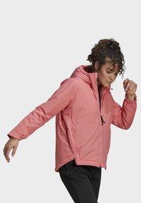 adidas Performance - Winter jacket - pink - 7