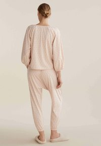 OYSHO - FLORAL  - Pyjama top - rose - 2