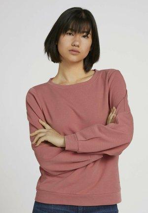 Sweatshirt - dusty pastel pink