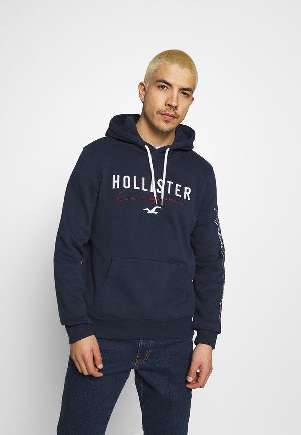 Hollister Co. TECH LOGO - Bluza - navy/granatowy Odzież Męska LSYA