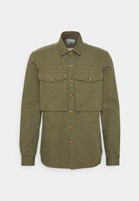 forét - GONE SHIRT - Shirt - slate - 0