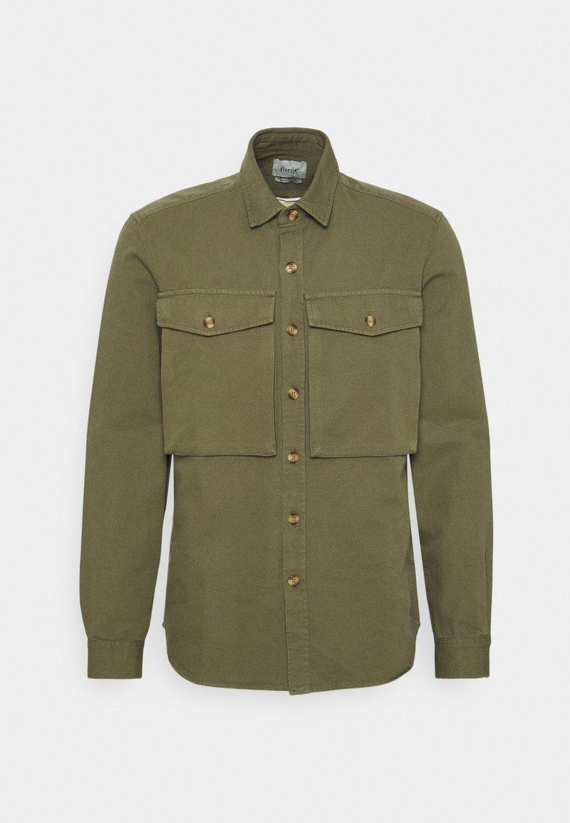 forét - GONE SHIRT - Shirt - slate