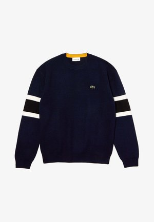 AH8544 - Sweatshirt - navy blue/black/white/yellow