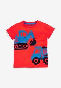 Next - 3 PACK  - T-shirt print - red - 1