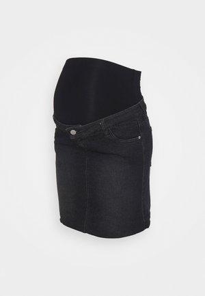 MINI SKIRT - Minirok - washed black