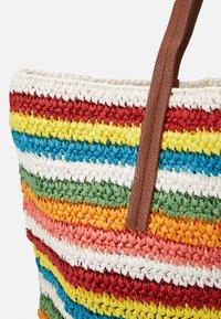 J.CREW - RAINBOW STRIPE MARKET TOTE - Shopping bag - multicoloured - 3