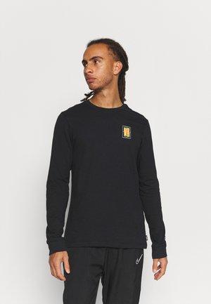 F.C. SEASONAL TEE - Långärmad tröja - black