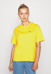 Lacoste - T-shirt basic - guepe - 0