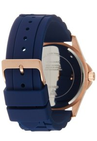 Guess - UNISEX SPORT DATE - Hodinky - blue/rose gold-coloured - 1