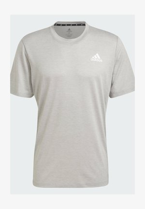 M PR HT T - Basic T-shirt - medium grey heather/white