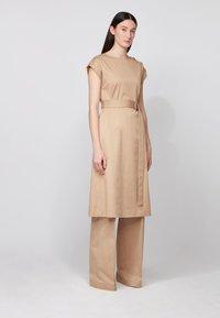 BOSS - DOMATO - Day dress - beige - 1