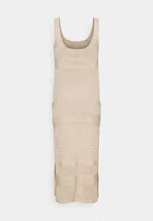 BARE - Vestido de punto - cement