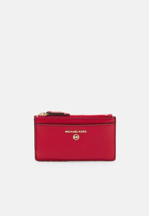 JET SET CHARM SLIM CARD CASE - Lommebok - bright red