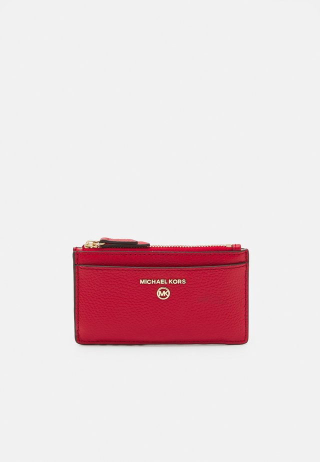 JET SET CHARM SLIM CARD CASE - Wallet - bright red