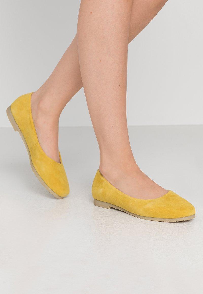 MAHONY - BARABA - Ballet pumps - lemon