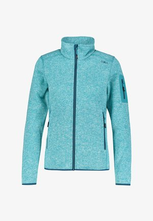 WOMAN JACKET - Fleece jacket - blau