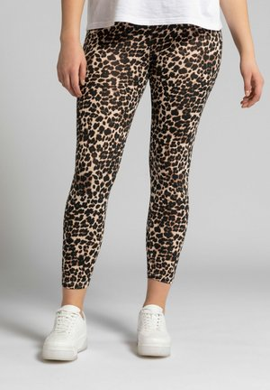 Leggings - Trousers - lichtbruin