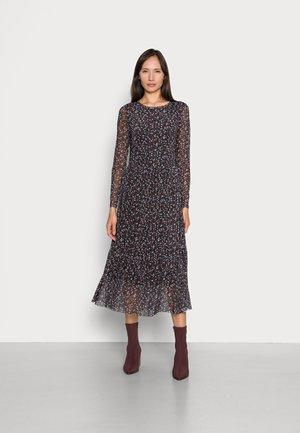 DRESS PRINTED - Maxi dress - black small dot design