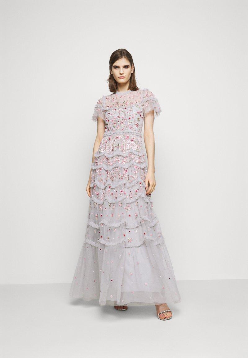 Needle & Thread - ELSIE RIBBON GOWN - Společenské šaty - crystal blue
