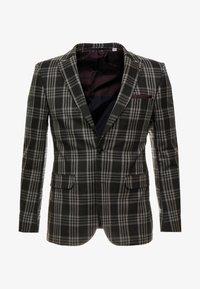 LARGE TARTAN - Suit jacket - grey