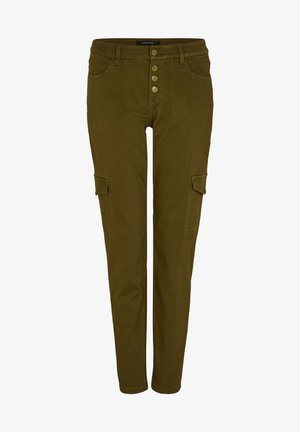 Trousers - deep green
