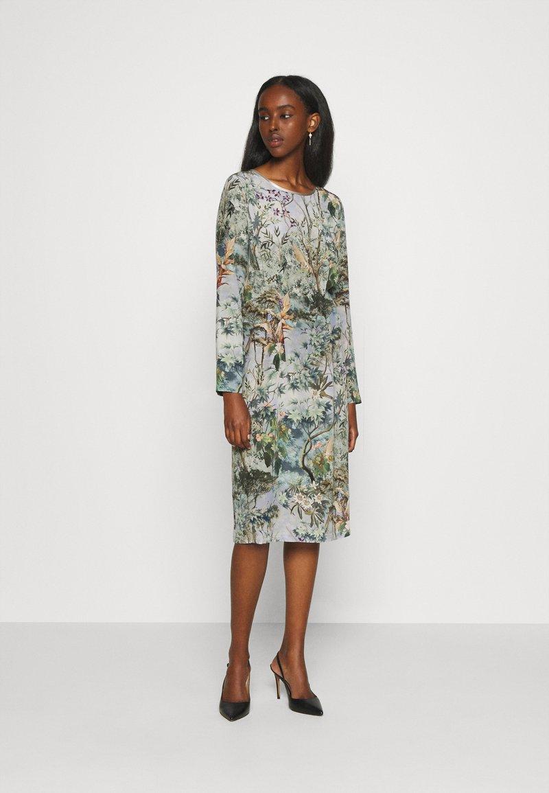 Alberta Ferretti - DRESS - Day dress - grey