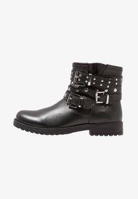 Friboo - Kovbojské/motorkářské boty - black - 1